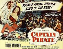Captain Pirate 1952 DVD - Louis Hayward / Patricia Medina